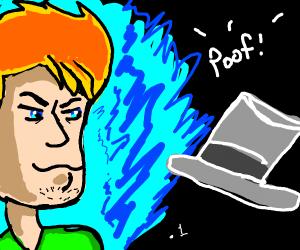 Shagy uses .1 power to make hat