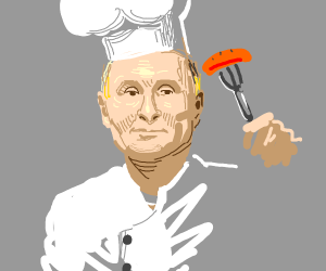 Putin is now a chef