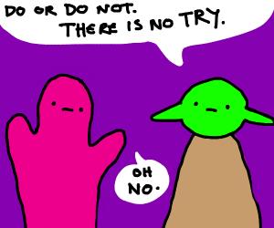 Dorris McComics draws Yoda