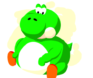 quite a thicc yoshi