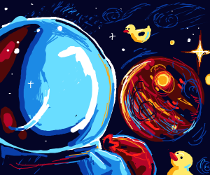 Space duck robbery
