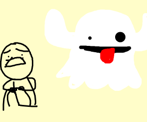 Haunted by an Emoji Ghost