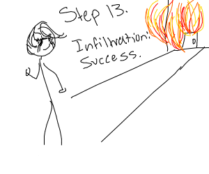Step 12: get accepted; go to the interview.