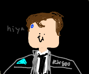 Hi, I'm Connor, the android sent by Cyberlife
