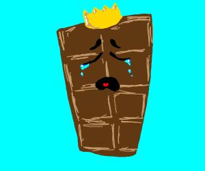 Sad Chocolate King