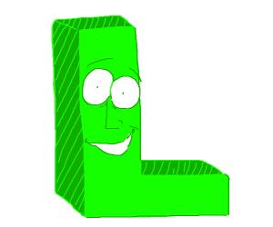 happy green L