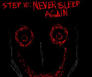 Step 9: have sleep paralysis