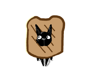dog and toast