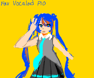 Favorite Vocaloid PIO