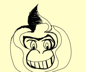 One line Donkey Kong