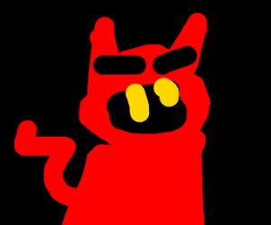 Satan's Pet Cat