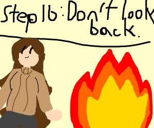 step 15 : burn it