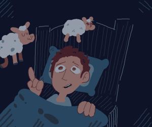 counting sheep, helps you sleep!