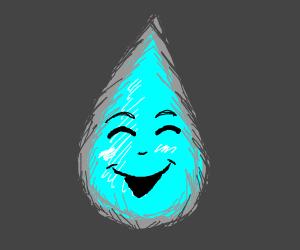 happy raindrop