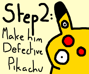 Step 1: Find Detective Pikachu in your apartm