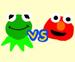 Kermit vs Elmo