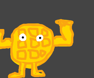 The Waffle is BUFF!