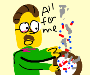 ned flanders takes all the drugs