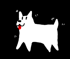 The annoying dog from undertale