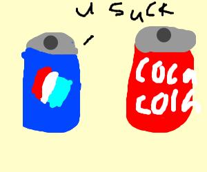 pepsi threatens coca-cola