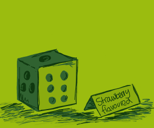 Strawberry-flavoured Dice
