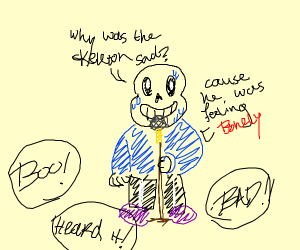 Stand up comedy sans