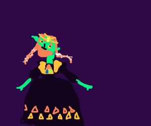 Ganondorf as the princess