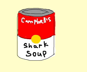 shark in a can