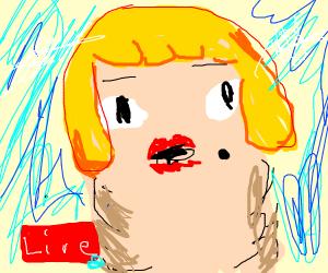Ugly Blonde Live on TV