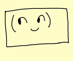 lenny face rectangle