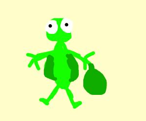 Grasshopper Garbageman