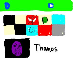 Thanos's drawception profile