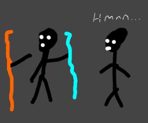 Portal 2 Co-op: Picking favourite element