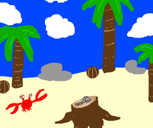 Wrench on an Island