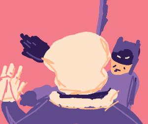 Free draw but put Batman somewhere