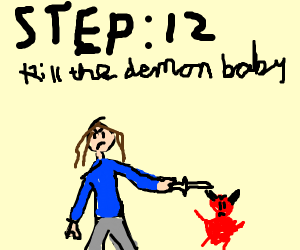 step 11: reproduce with the devil