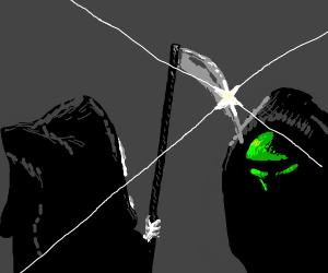 Kermit vs The Grim Reaper