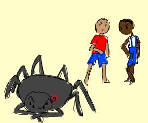 Racist Spider