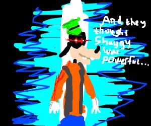 Goofy shows his true powers...