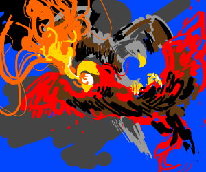 Eagle versus phoenix, ultimate birb showdown!