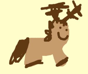 moose horse crossbreed