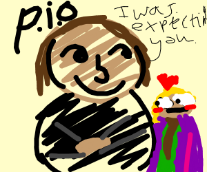Draw a famous painting (PIO)