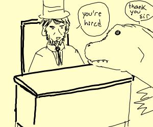 Lincoln hiring Dinosaur