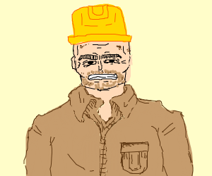Crusty Construction Worker