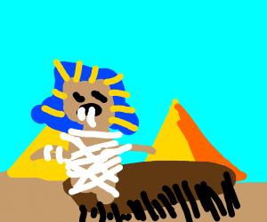 An ancient Egyptian centipede monster
