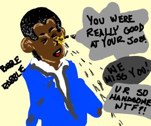 obama failing at dodging accusations