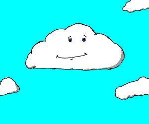 a very calm cloud