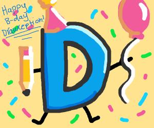 Happy 7th Birthday Drawception