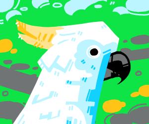 Polygonal Cockatoo