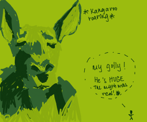 Giant Kangaroo myth comes to life